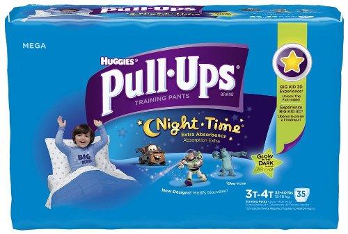 Huggies Pull-Ups Night-Time Training Pants for Boys - Mega Pack - 1