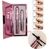 RELiAN Mascara Set (Transplanting Gel + Natural Fiber) Waterproof 8041 - Novel Concept on Eyelash Bushy