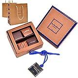 ジャンポールエヴァン ショコラ 4個 手提げ袋付き ボワットゥショコラ スイーツ 高級お菓子 ギフト パリ JEAN PAUL HEVIN お取り寄せ スイーツ セット チョコレート