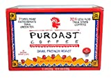 Puroast Low Acid Coffee French Roast Single Serve Coffee, Keurig Compatible, 4.88 Ounce