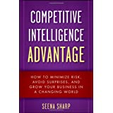 Competitive Intelligence Advantage: How to Minimize Risk, Avoid Surprises, and Grow Your Business in a Changing Worldby Seena Sharp