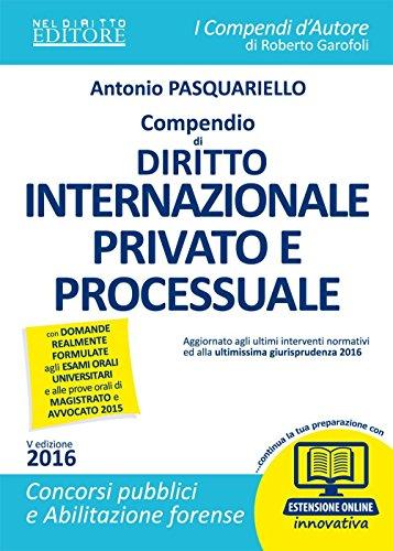 Compendio di diritto internazionale privato e processuale Con espansione online PDF