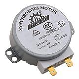 SODIAL(R)電子レンジターンテーブル同期モータ4W AC220-240V4 RPM CW/ CCW