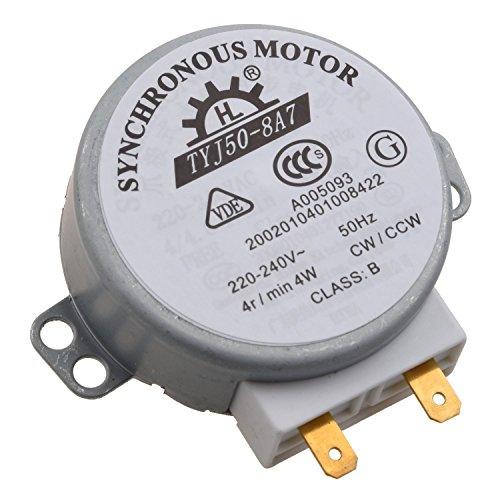 TOOGOO(R) Microwave Oven Turntable Synchronous Motor 4W AC 220-240V 4 RPM CW/CCW (4 Turntable compare prices)