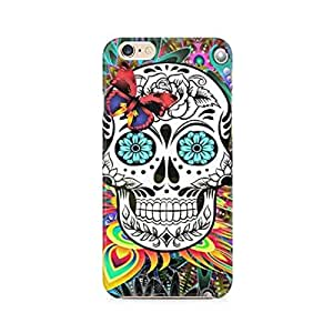 Mobicture Skull Art Premium Printed Case For Apple iPhone 6/6s