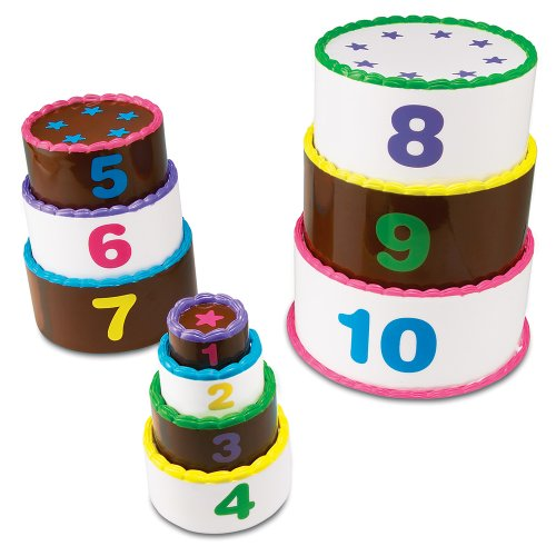 Learning Resources Smart Snacks Stack & Count Layer Cake - 1
