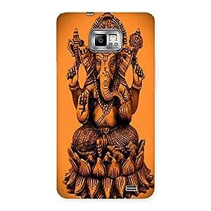 AJAYENTERPRISES Cover Of Ganpatti Back Case Cover for Galaxy S2