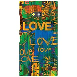 Printland Nokia Lumia 730 Back Cover High Quality Designer Case