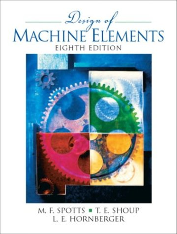 Design of Machine Elements (8th Edition)