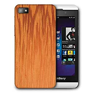 Snoogg Fire Flames Printed Protective Phone Back Case Cover For Blackberry Z10