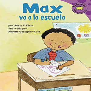 Max va a la escuela (Max Goes to School) Audiobook