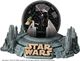 Star Wars - Deluxe Water Globe : Yoda vs Darth Sidious