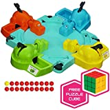 Hungry Hungry Hippos Game with Free Brybelly Puzzle Cube