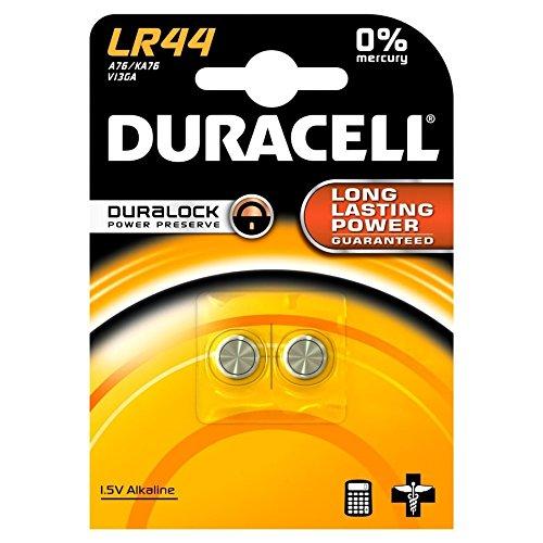 Duracell LR44 Batterie Alcaline 2 pezzi