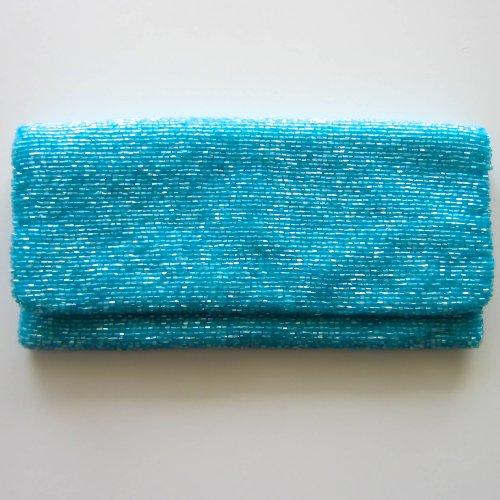 MoynaMoyna Blue Clutch