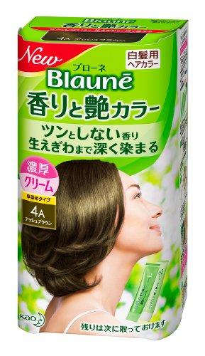 ブローネ 香りと艶カラー クリーム 4A