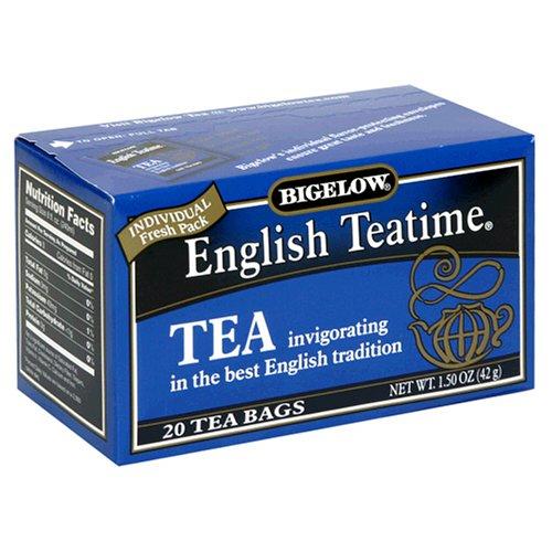 Buy Bigelow English Teatime Tea, Tea Bags, 20-Count Boxes (Pack of 12) (Bigelow, Health & Personal Care, Products, Food & Snacks, Beverages, Tea, Black Teas)