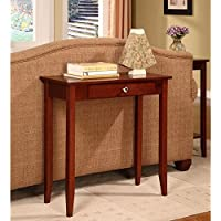 DHP Rosewood 5139096 Tall Sofa Table (Coffee Brown)