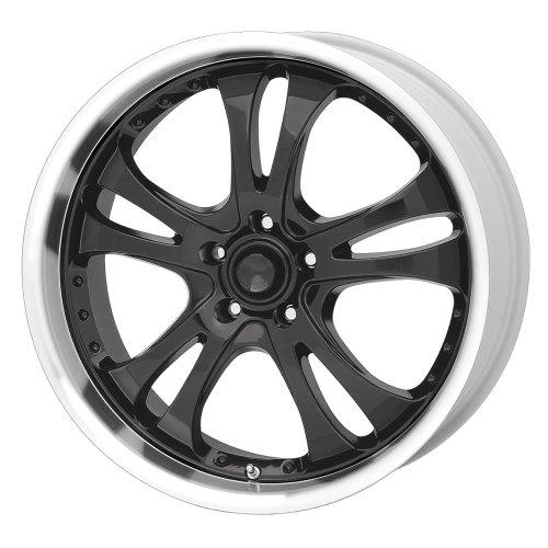 American Racing Casino AR393 Gloss Black Wheel with Machined Lip (17x7.5