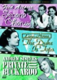 3 Classic Musicals Of The Silver Screen - Vol. 1 - Second Chorus / The Duke Is Tops / Private Buckaroo [DVD]