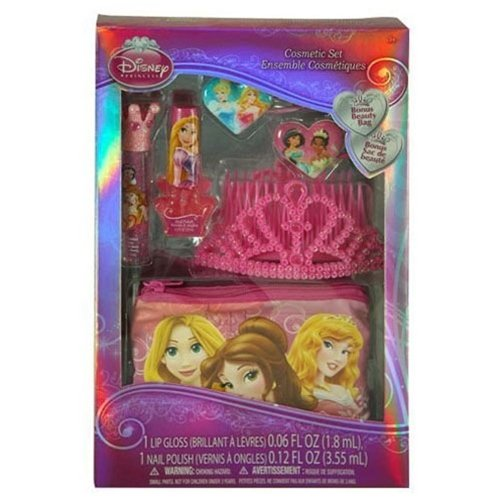 Disney Princess Cosmetic Set with Tiara in Box - 1