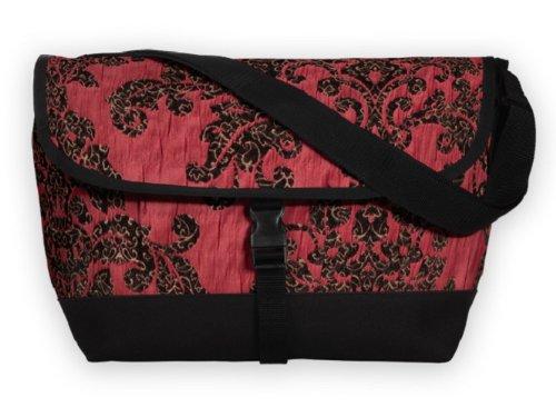 Sally Spicer Baby Messenger Bag, Florentine Pink