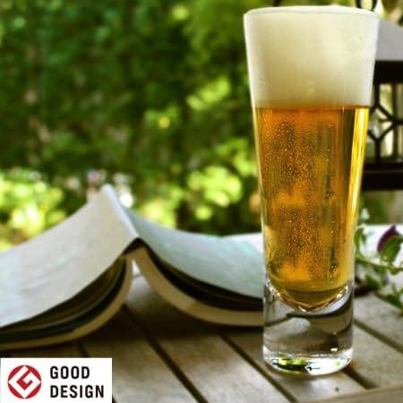 【グッドデザイン賞受賞】 生涯を添い遂げるグラス ビアグラス 透明