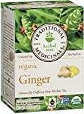 Traditional Medicinals Organic Ginger, 16-Count Boxes (Pack of 6)