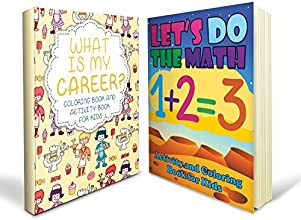 Activity Books for Kids Bundle - Two Great Activity Books for Kids Includes a Let39s Do the Math Act