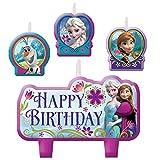 Frozen Birthday Candle Set (Set Of 4)
