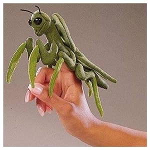 Folkmanis Puppet Mini Praying Mantis from Folkmanis
