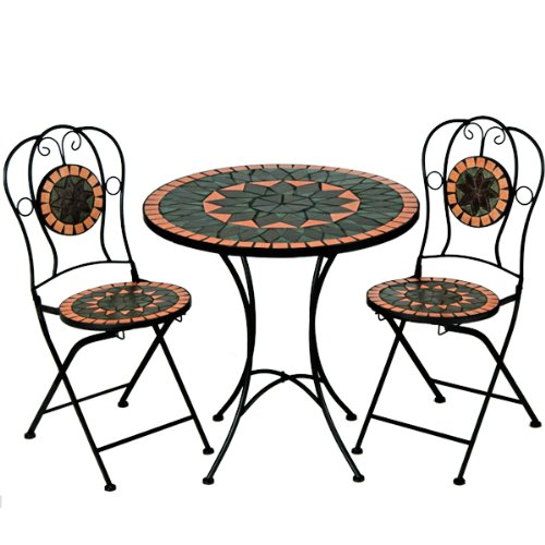 Mosaiksitzgarnitur-TERRACOTTA-2x-Stuhl-1-Tisch-Sitzgruppe-Mosaiktisch-Mosaikstuhl-Gartentisch