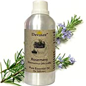 Devinez Rosemery Essential Oil For Electric Diffusers/ Tealight Diffusers/ Reed Diffusers, 1000ml