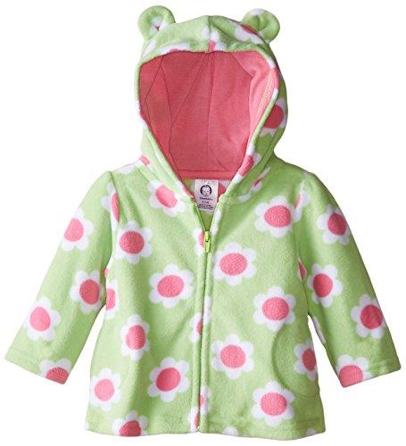 Gerber Baby Girls' Printed Micro Fleece Jacket