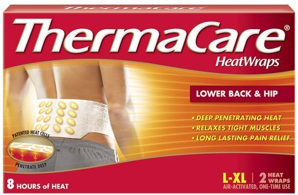 ThermaCare Air-Activated Heatwraps, Back, Large To Extra Large - 2 ea