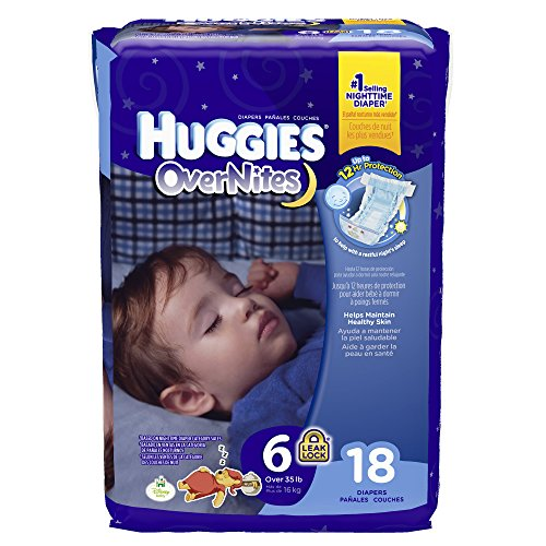 Huggies Overnites Diapers - Size 6 - 18 ct - 1