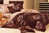WRAP 100% COTTON DOUBLE BED DUVET SET (1 BEDSHEET 2 PILLOW COVERS & 1 DUVET COVER) CNSD-10