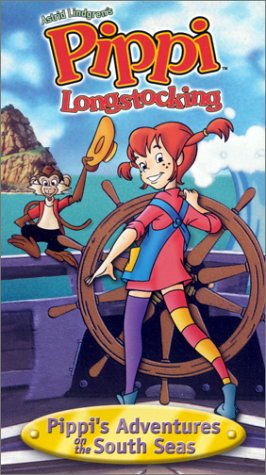Pippi's Adventures on the South Seas [VHS] by