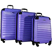 Ciao Voyager 3-Piece Hardside Spinner Luggage Set (Multiple Colors)