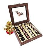 Chocholik Belgium Chocolate Gifts - Amazing Chocolate Box With Ganesha Idol - Diwali Gifts