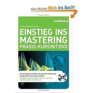 eBook Cover für  Einstieg ins Mastering Praxis Kurs mit DVD