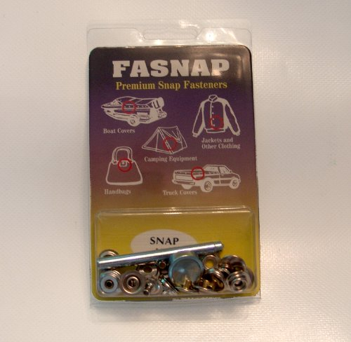 Fasnap Premium Snap Fastener Snap Repair Kit (Clothing Snap Repair Kit compare prices)