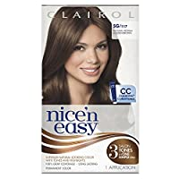 Clairol Nice 'N Easy Hair Color 117 Natural Medium Golden Brown 1 Kit (Pack of 3)