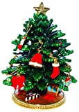 Objet D'Art トリンケットボックス リリースNo.201 「Deck The Halls」クリスマスツリーの宝石箱(取り外し可能オーナメント付き)