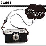 グラディー(gladee)ジャンボカメラポーチ:ブラック