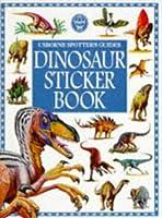 Usborne Spotters Guide Dinosaur Sticker Book