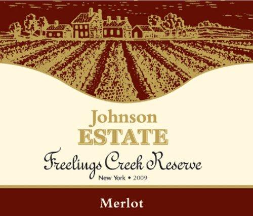 2009 Johnson Estate Freelings Creek Merlot 750 Ml