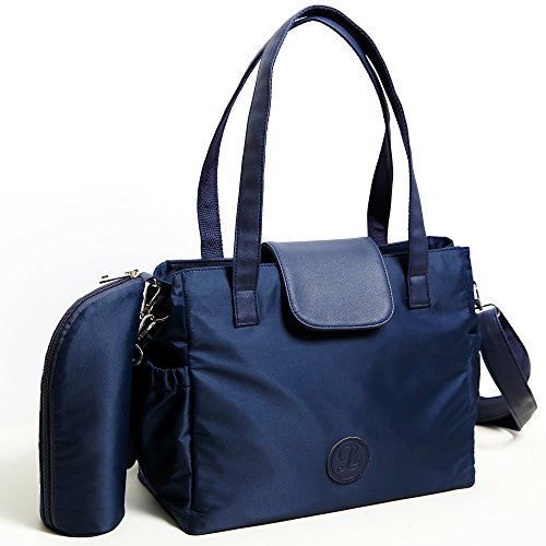 lara-looks-studio-compact-baby-diaper-bag-with-insulated-pockets-and-bottle-holder-in-navy-blue