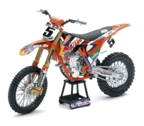 New 1:10 Motorcycles - Red Bull KTM 450 SX-F Ryan Dungey 57633S Diecast Model Car By NEW RAY TOYS (Die Cast Dungey Red Bull compare prices)