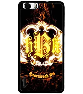 ColourCraft HBK Design Back Case Cover for HUAWEI HONOR 6
